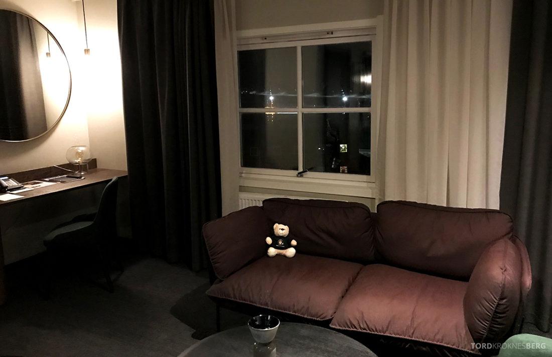 Funken Lodge Svalbard reisefølget stue