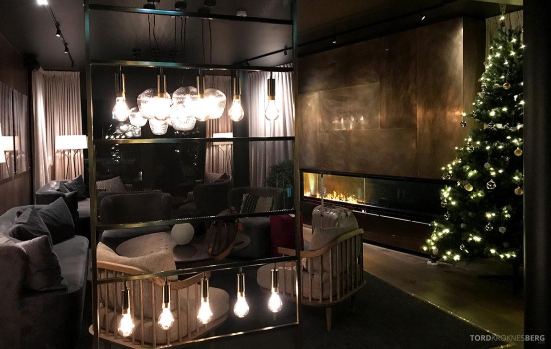 Funken Lodge Svalbard lobby