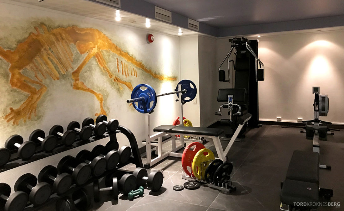 Funken Lodge Svalbard gym apparater