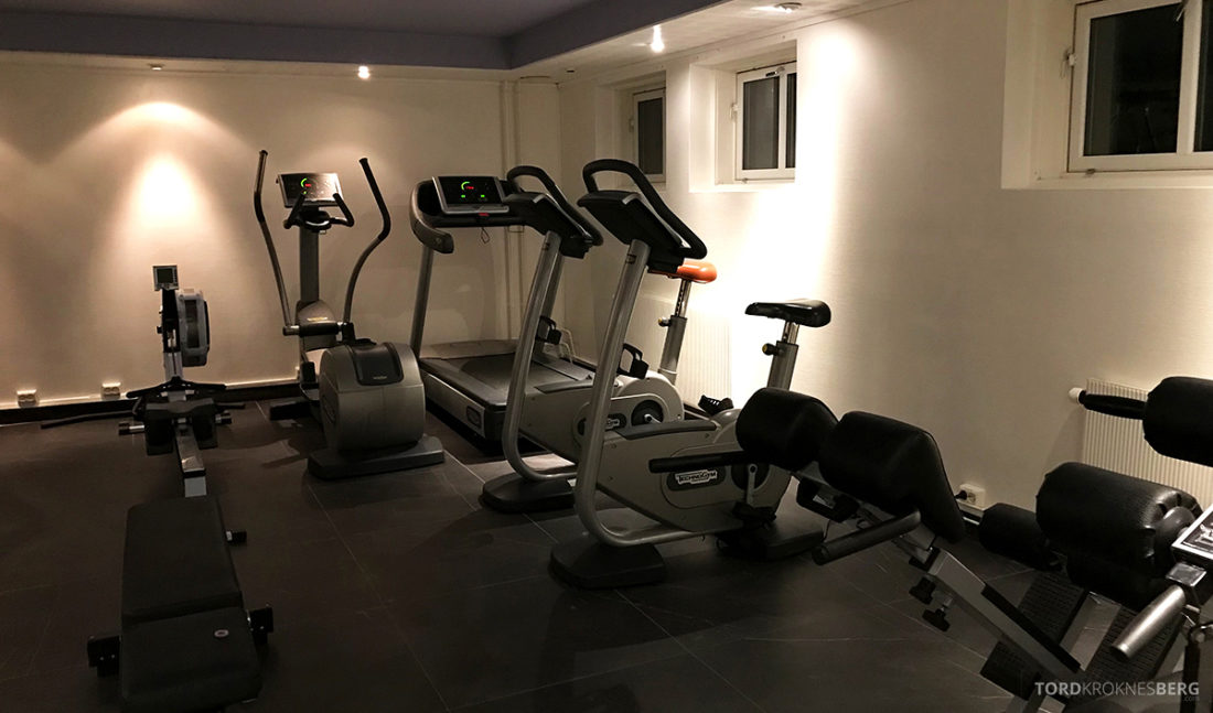 Funken Lodge Svalbard gym