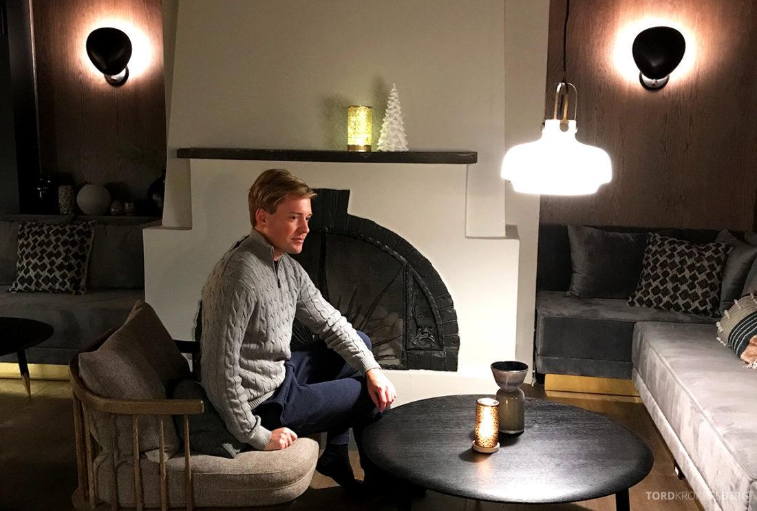 Funken Lodge Svalbard Tord Kroknes Berg stue