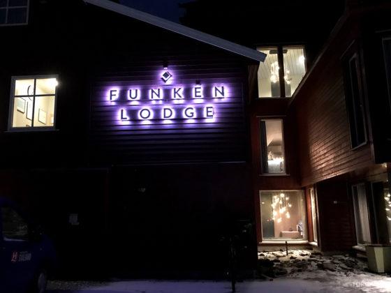 Funken Lodge Svalbard fasade
