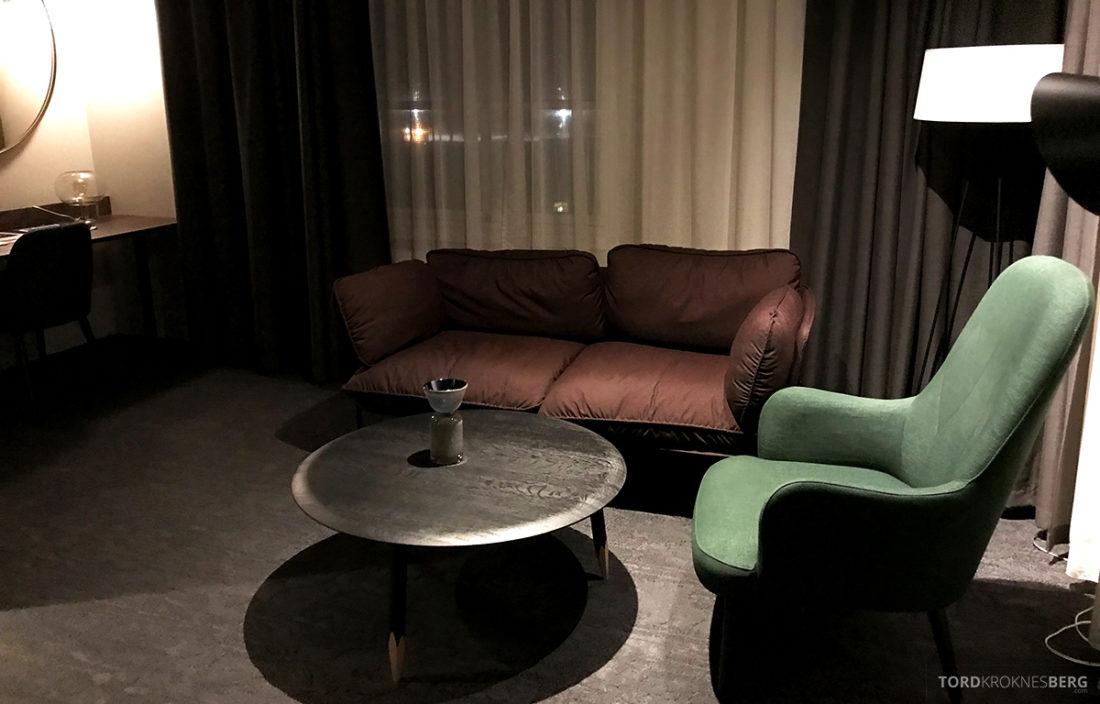 Funken Lodge Svalbard sofagruppe
