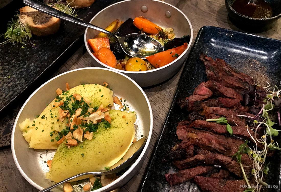 Funksjonærmessen Restaurant Svalbard biff