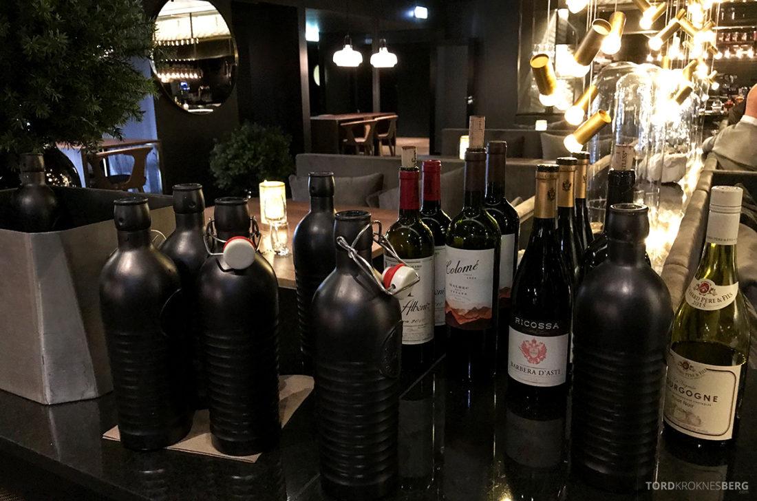 Funksjonærmessen Restaurant Svalbard viner