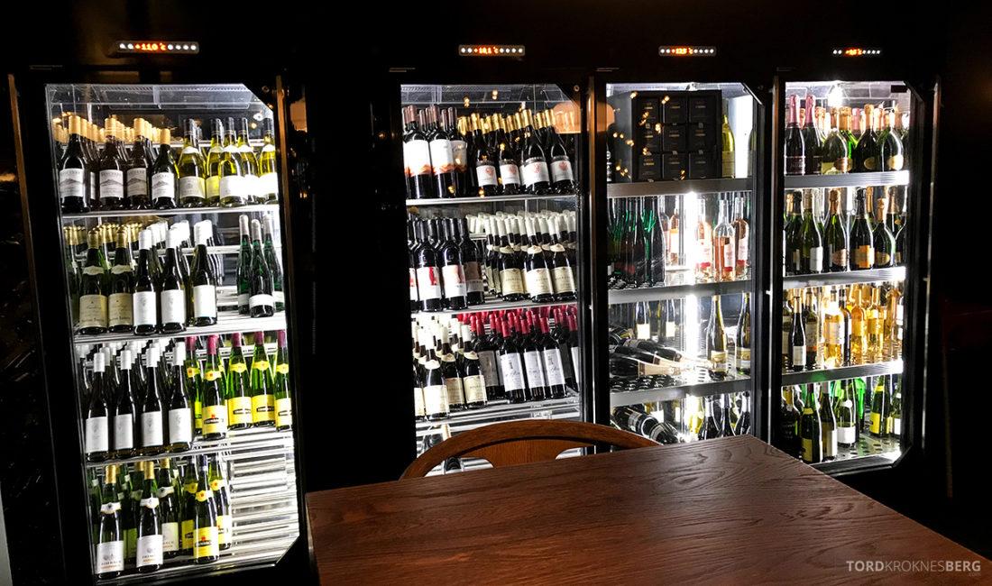 Funksjonærmessen Restaurant Svalbard vin