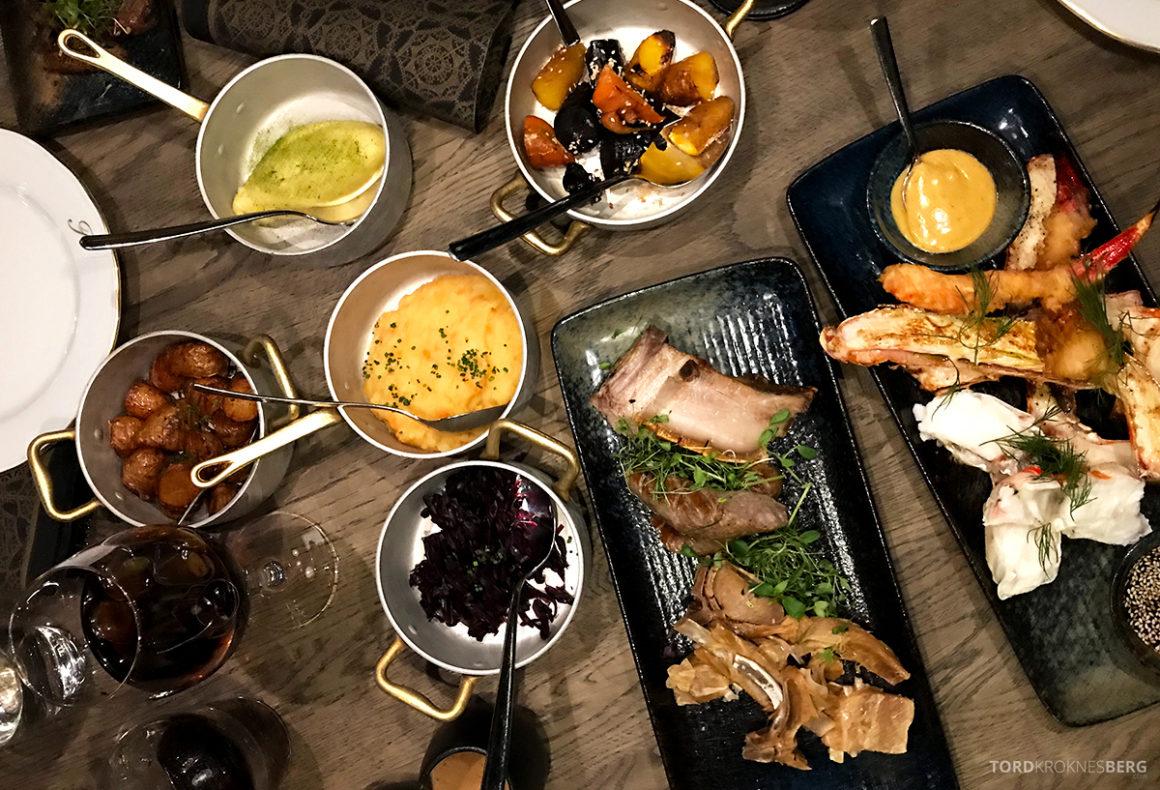 Funksjonærmessen Restaurant Svalbard juletallerken