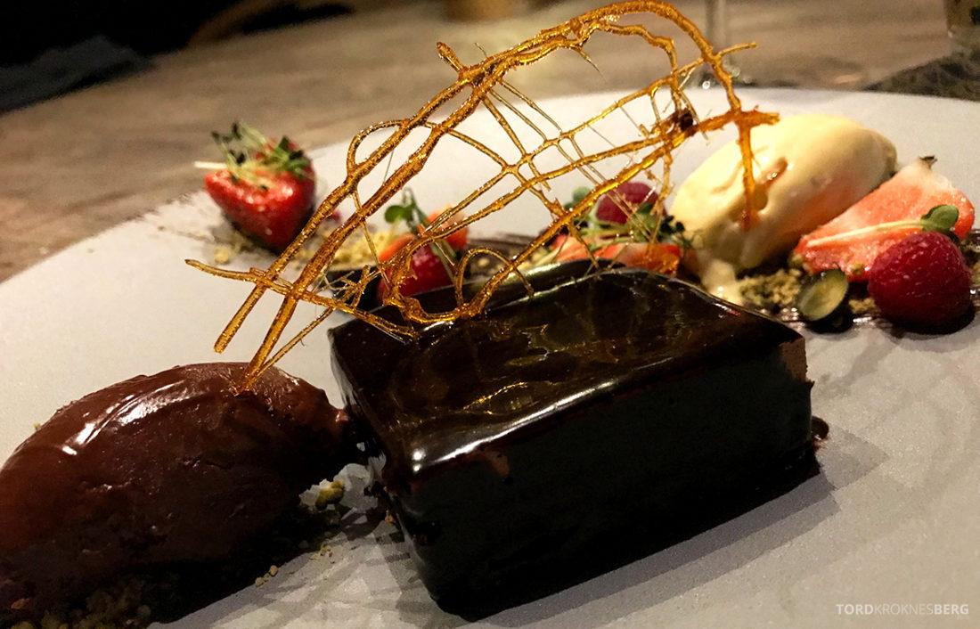 Funksjonærmessen Restaurant Svalbard sjokolade