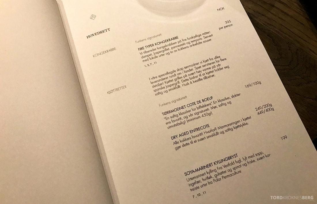 Funksjonærmessen Restaurant Svalbard hovedrett
