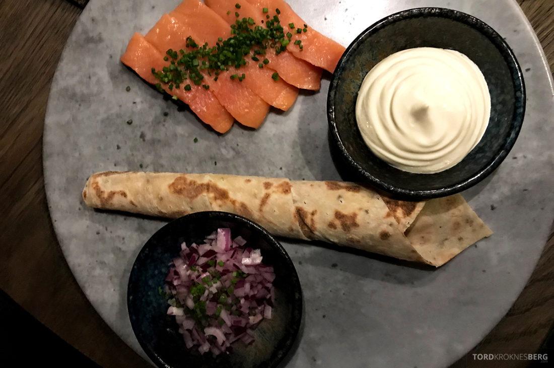 Funksjonærmessen Restaurant Svalbard gravlaks