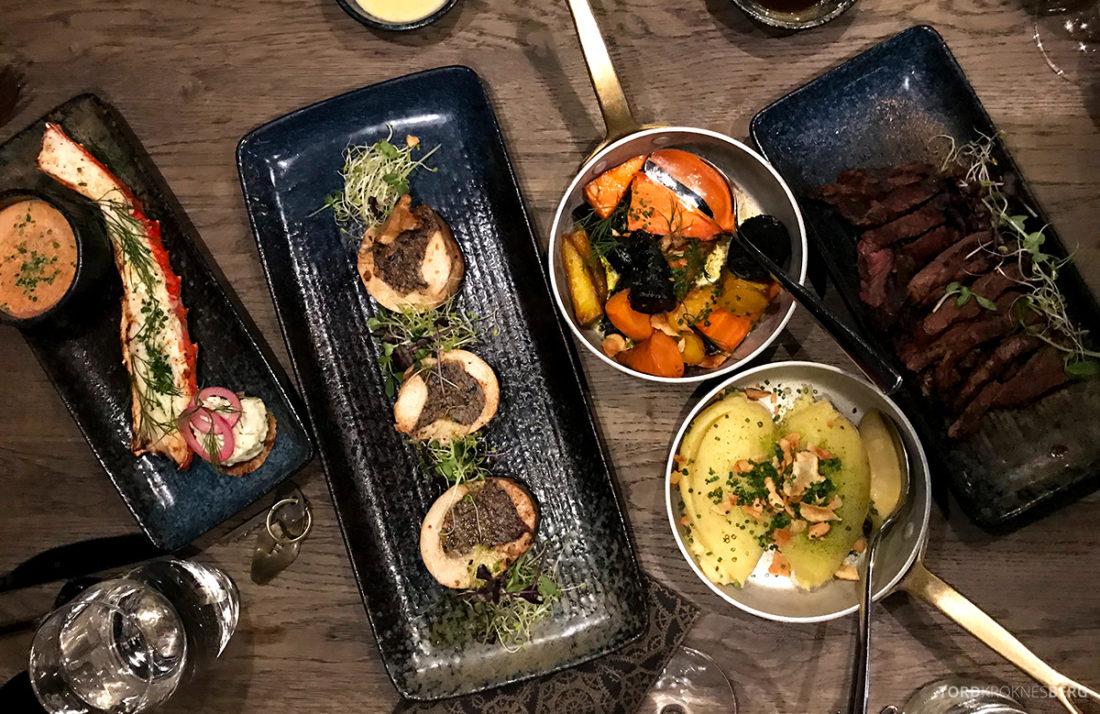 Funksjonærmessen Restaurant Svalbard mat