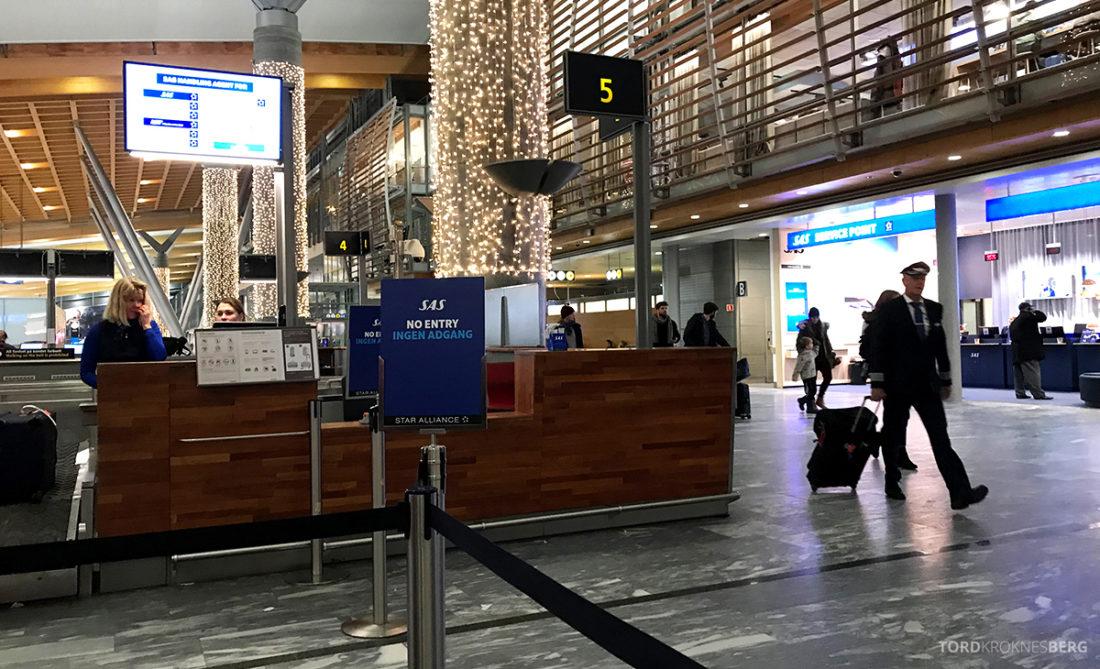 Lufthansa Economy Class Oslo Beograd innsjekk