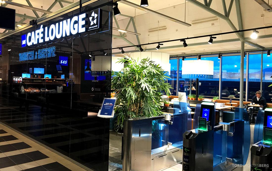 SAS Café Lounge Tromsø inngang