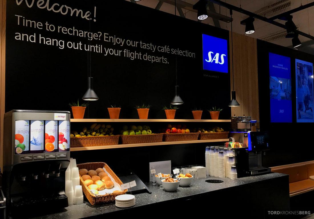 SAS Café Lounge Tromsø boller