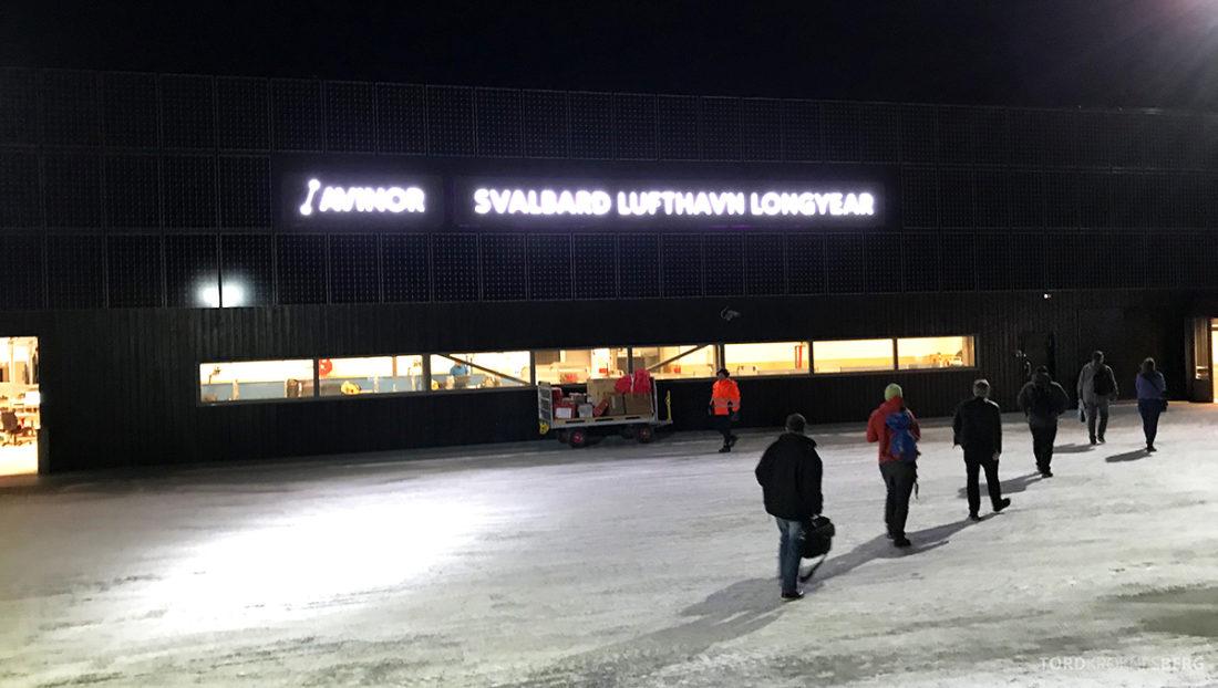 SAS Plus Oslo Svalbard lufthavn
