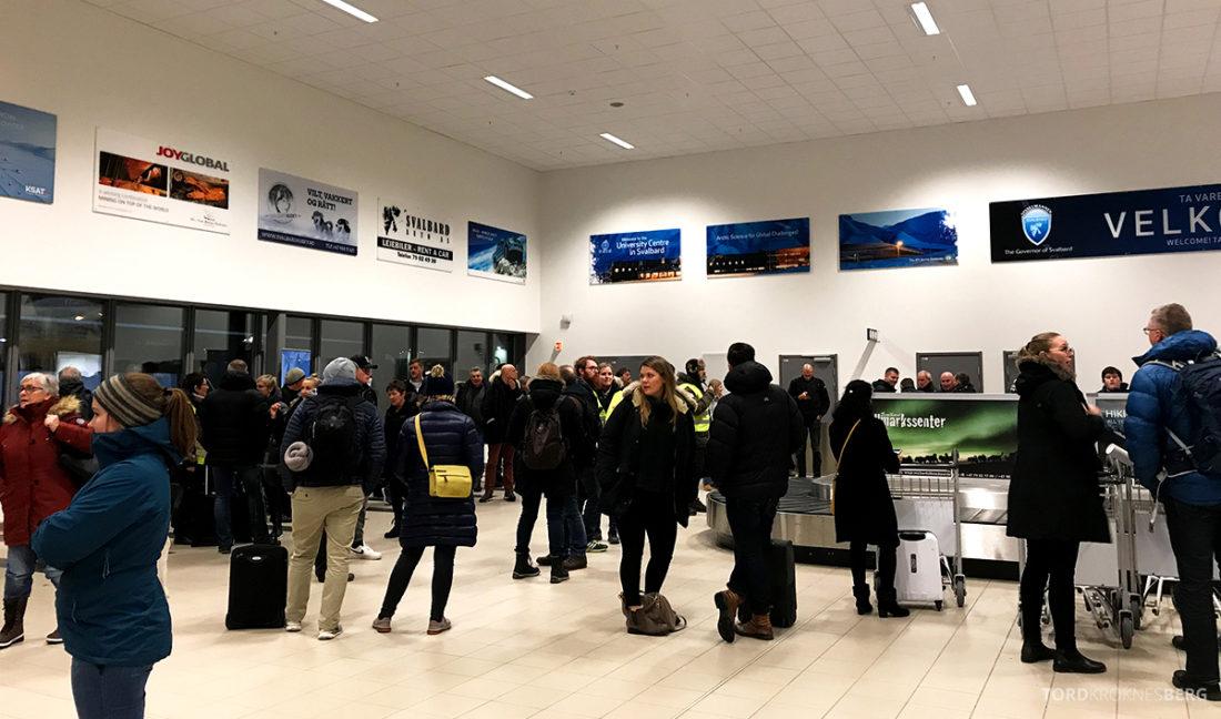 SAS Plus Oslo Svalbard bagasjebånd