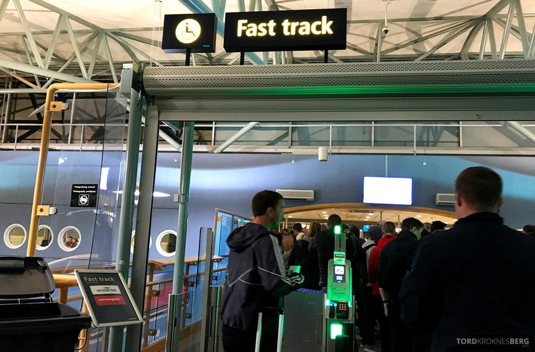 SAS Plus Svalbard Oslo fast track