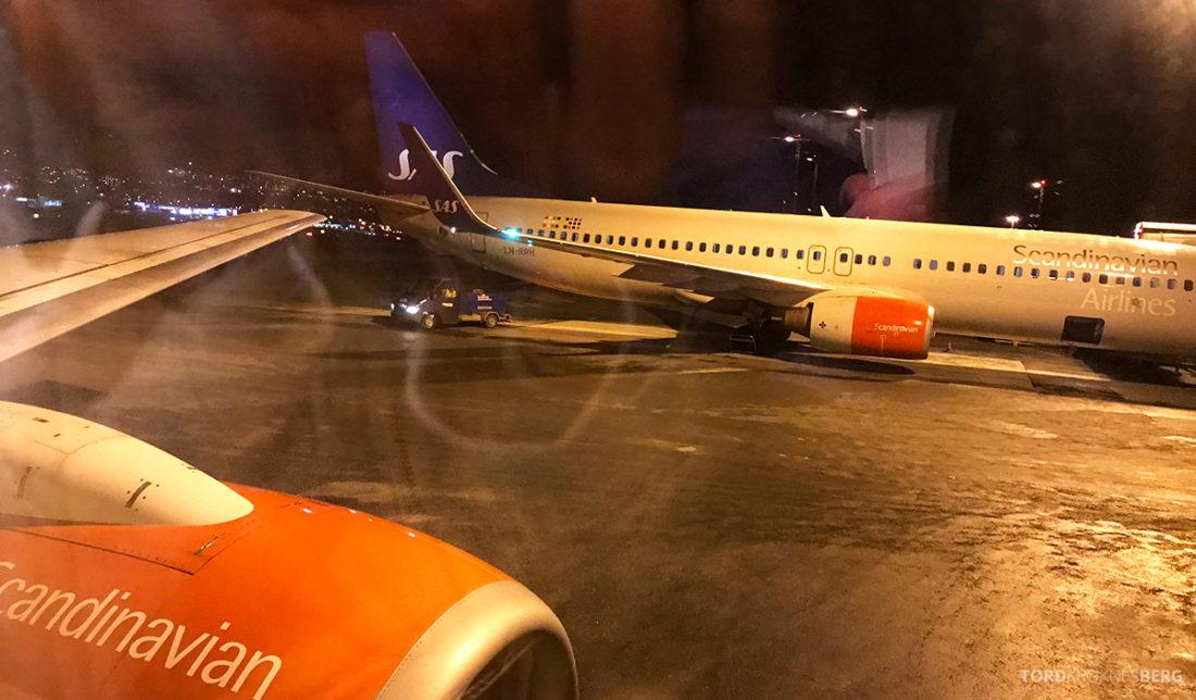 SAS Plus Svalbard Oslo adjø