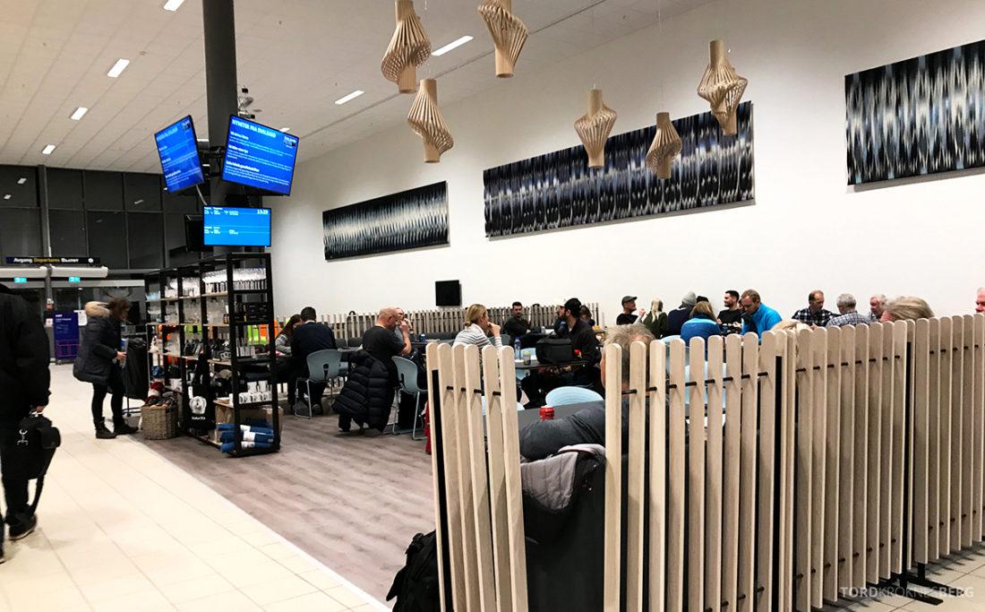 SAS Plus Svalbard Oslo terminal