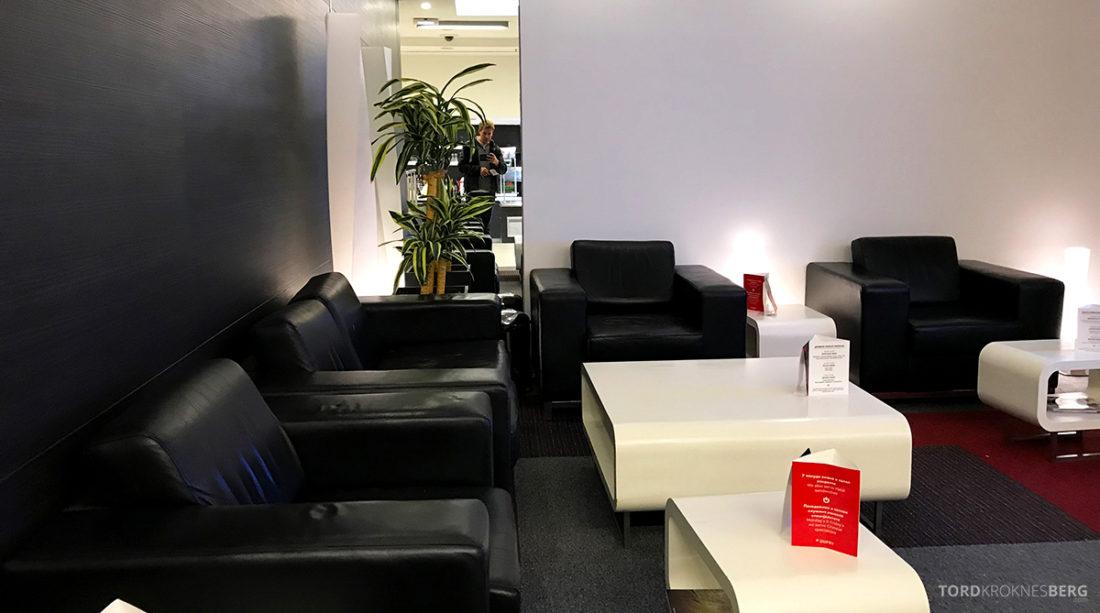 Business Club Lounge Beograd skinnstoler