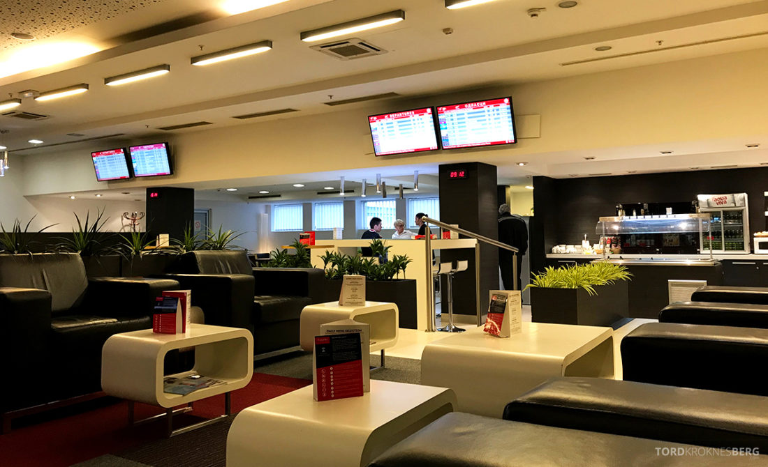 Business Club Lounge Beograd oversikt