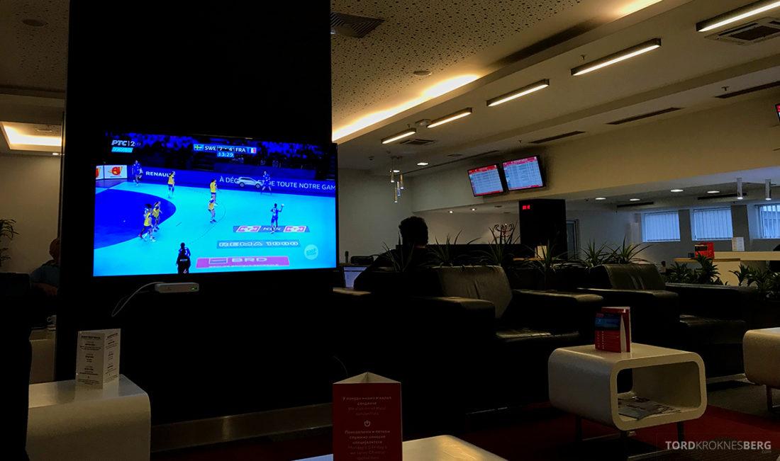 Business Club Lounge Beograd fjernsyn