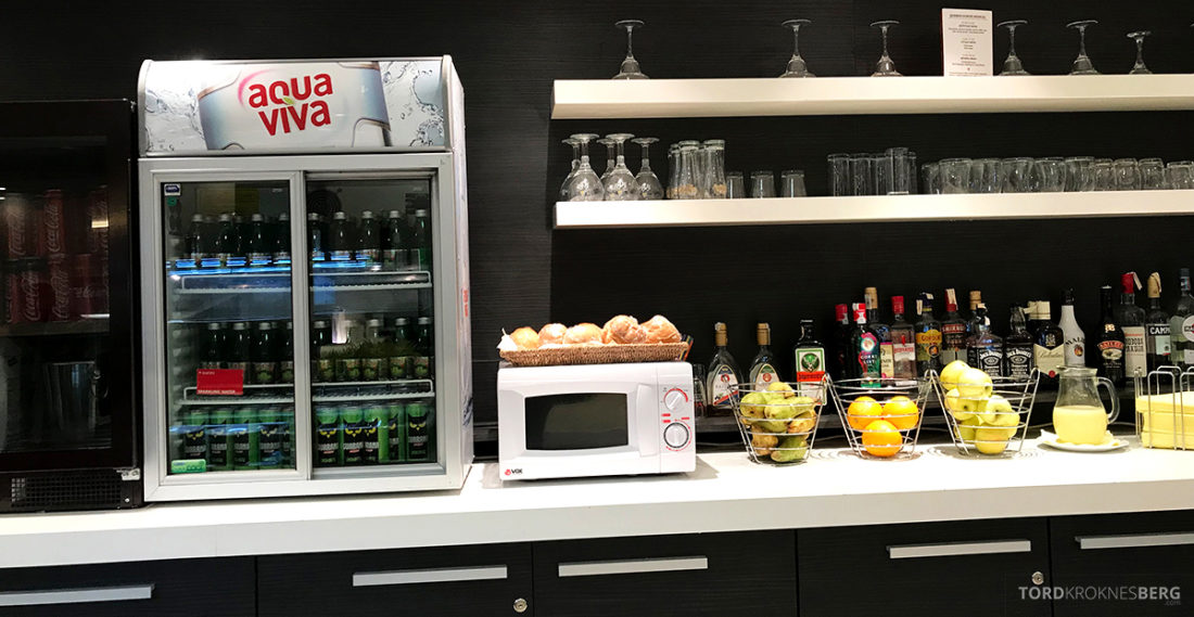 Business Club Lounge Beograd buffet