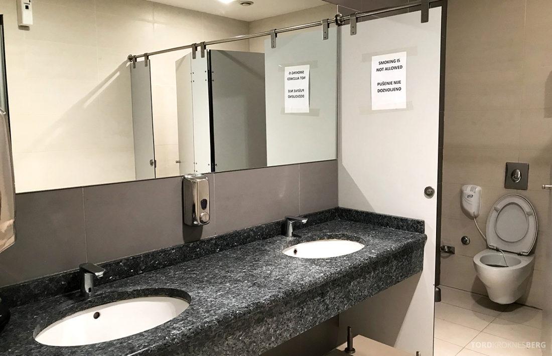 Business Club Lounge Beograd toalett