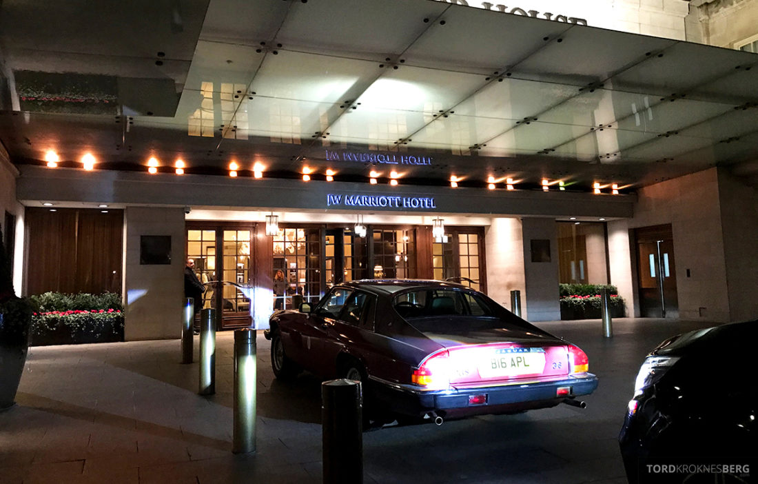 JW Marriott Hotel Grosvenor House London velkommen
