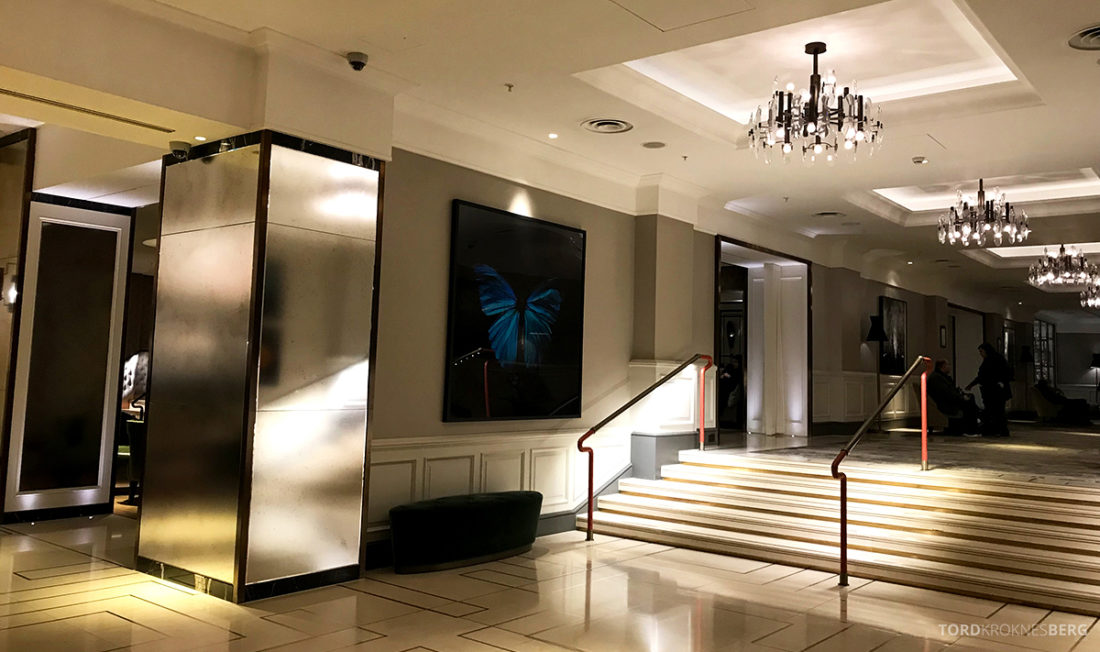 JW Marriott Hotel Grosvenor House London lobby