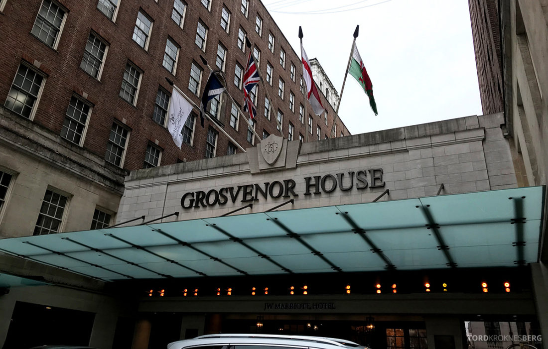 JW Marriott Hotel Grosvenor House London fasade
