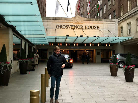JW Marriott Hotel Grosvenor House London Tord Kroknes Berg