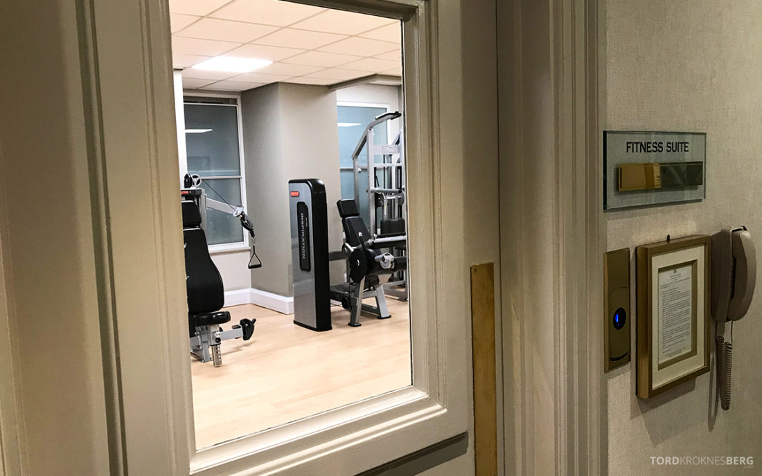 JW Marriott Hotel Grosvenor House London fitness suite