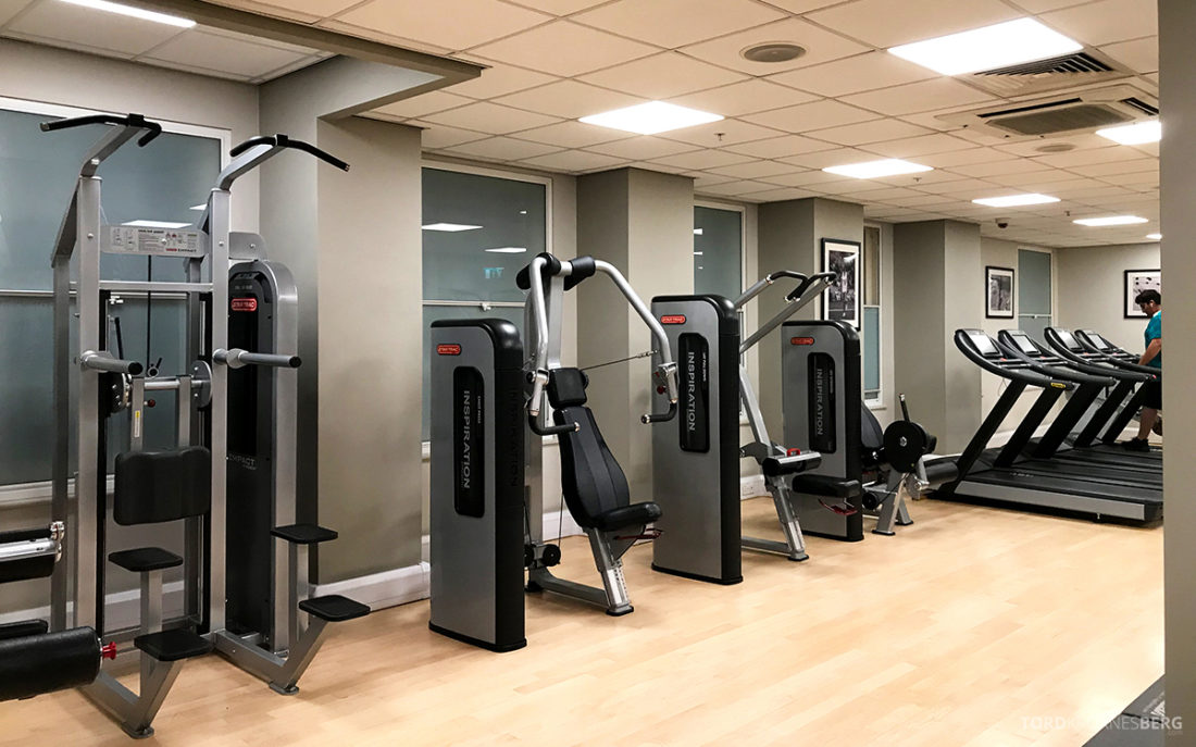 JW Marriott Hotel Grosvenor House London gym apparater