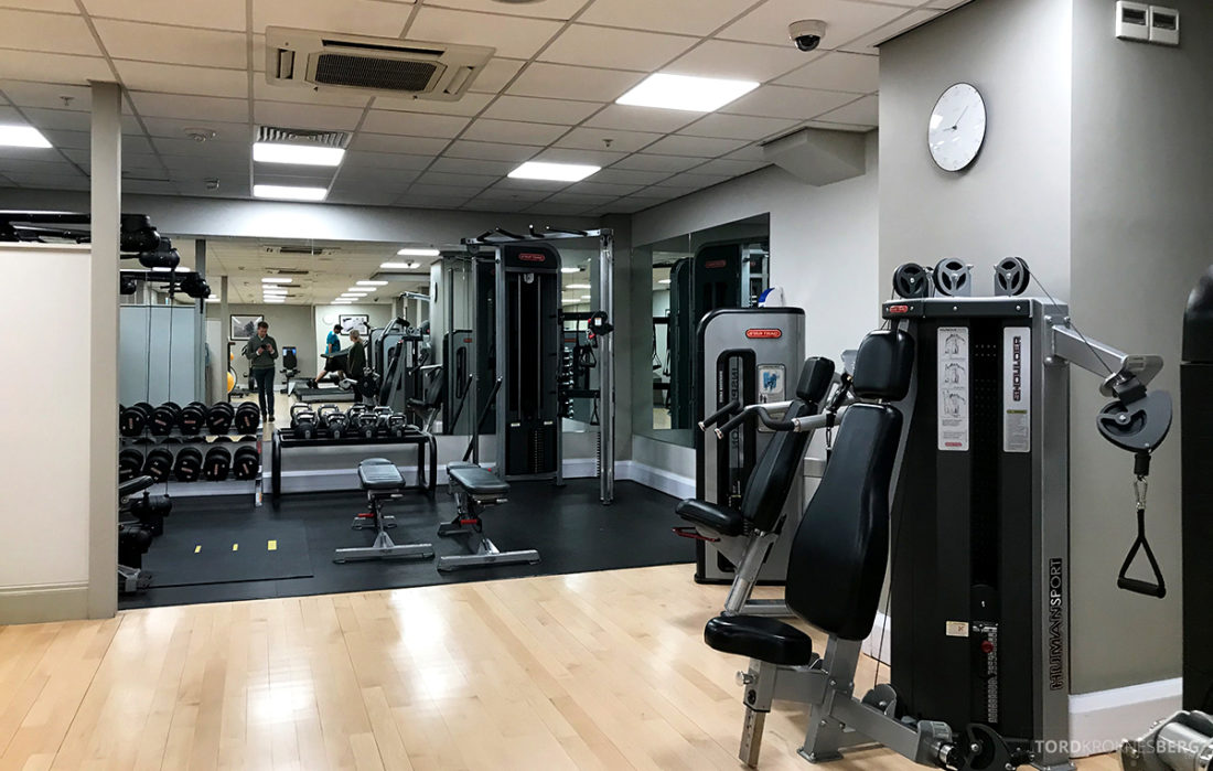 JW Marriott Hotel Grosvenor House London gym