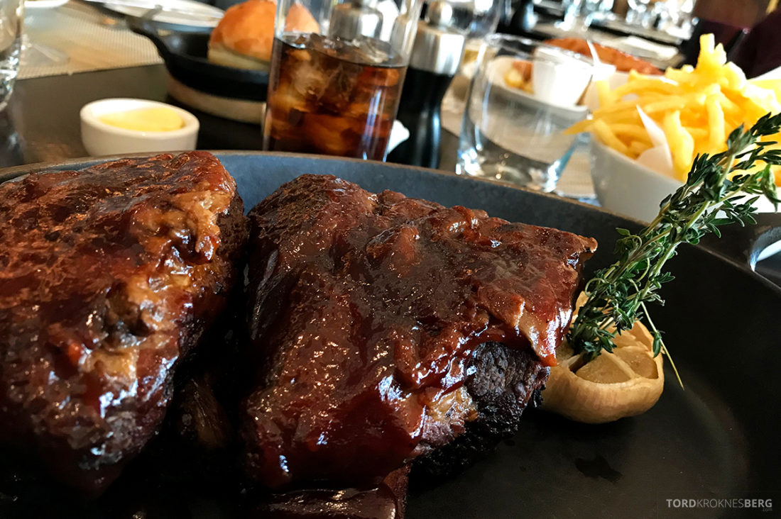 JW Marriott Hotel Grosvenor House London spareribs