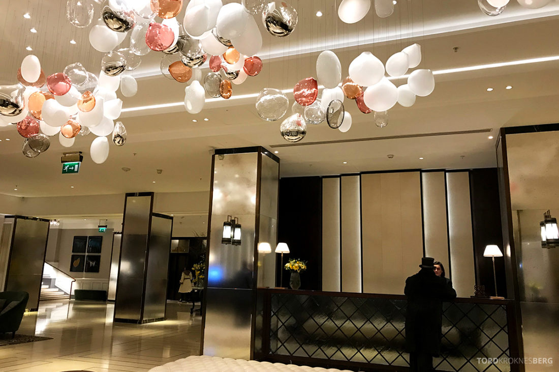 JW Marriott Hotel Grosvenor House London resepsjon