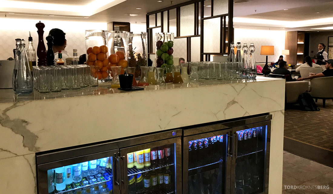 JW Marriott Hotel Grosvenor House London Executive Lounge frokost drikke