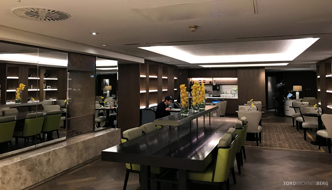 JW Marriott Hotel Grosvenor House London Executive Lounge sitteplasser