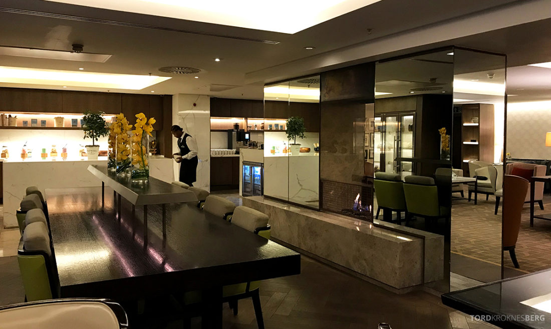 JW Marriott Hotel Grosvenor House London Executive Lounge oversikt