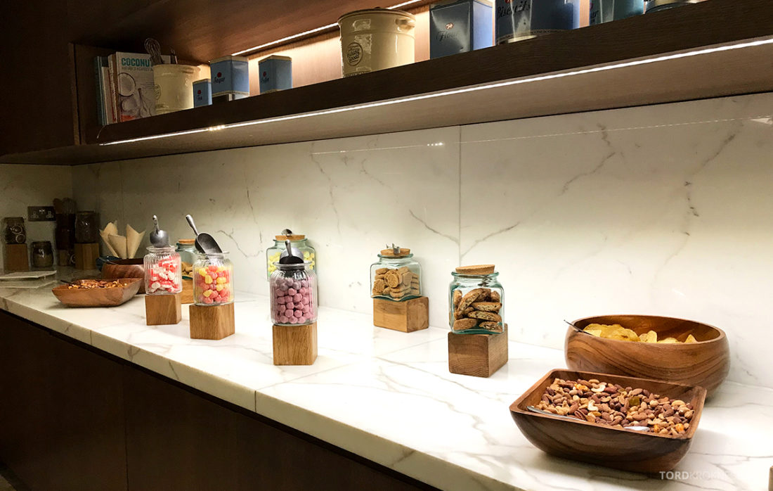 JW Marriott Hotel Grosvenor House London Executive Lounge godteri