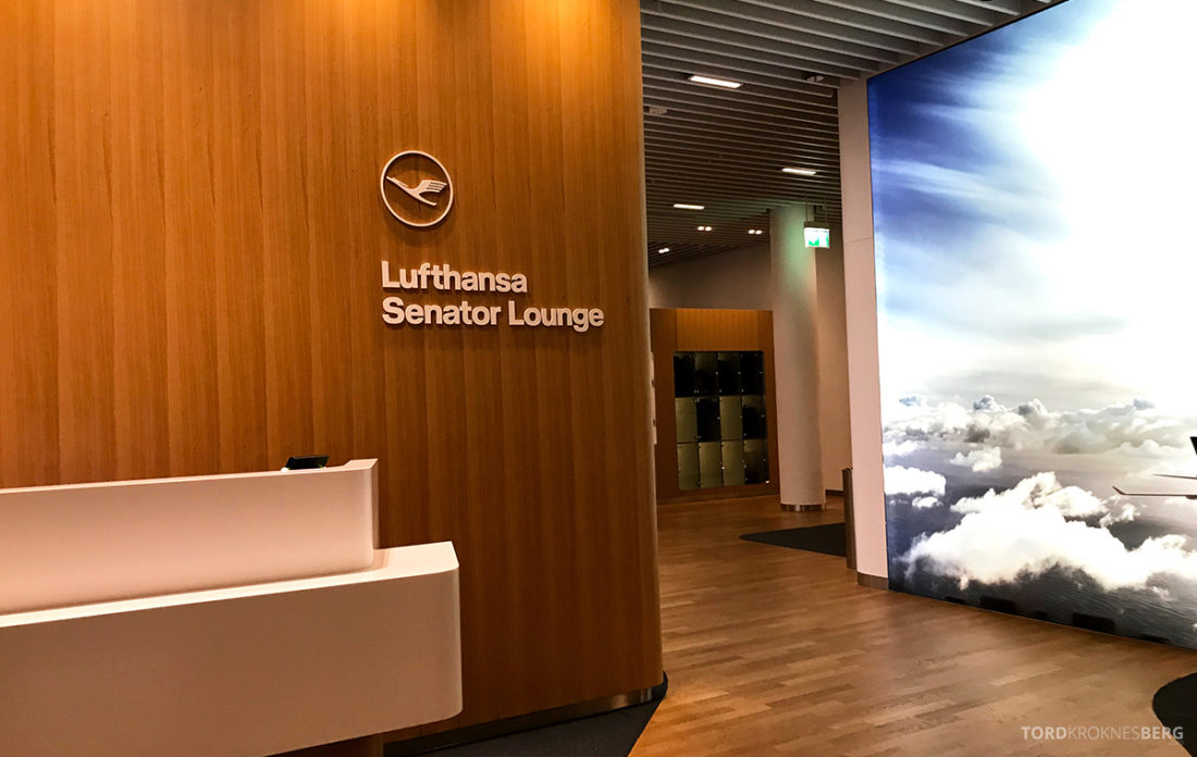 Lufthansa Economy Class Beograd Oslo Senator Lounge