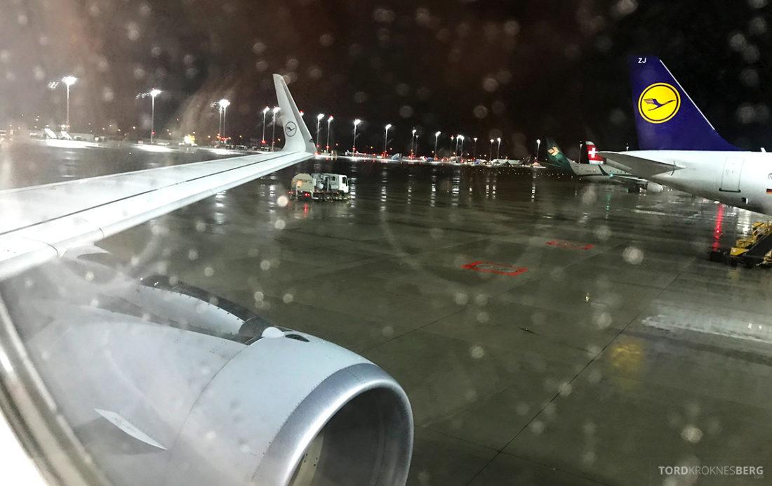 Lufthansa Economy Class Beograd Oslo avreise