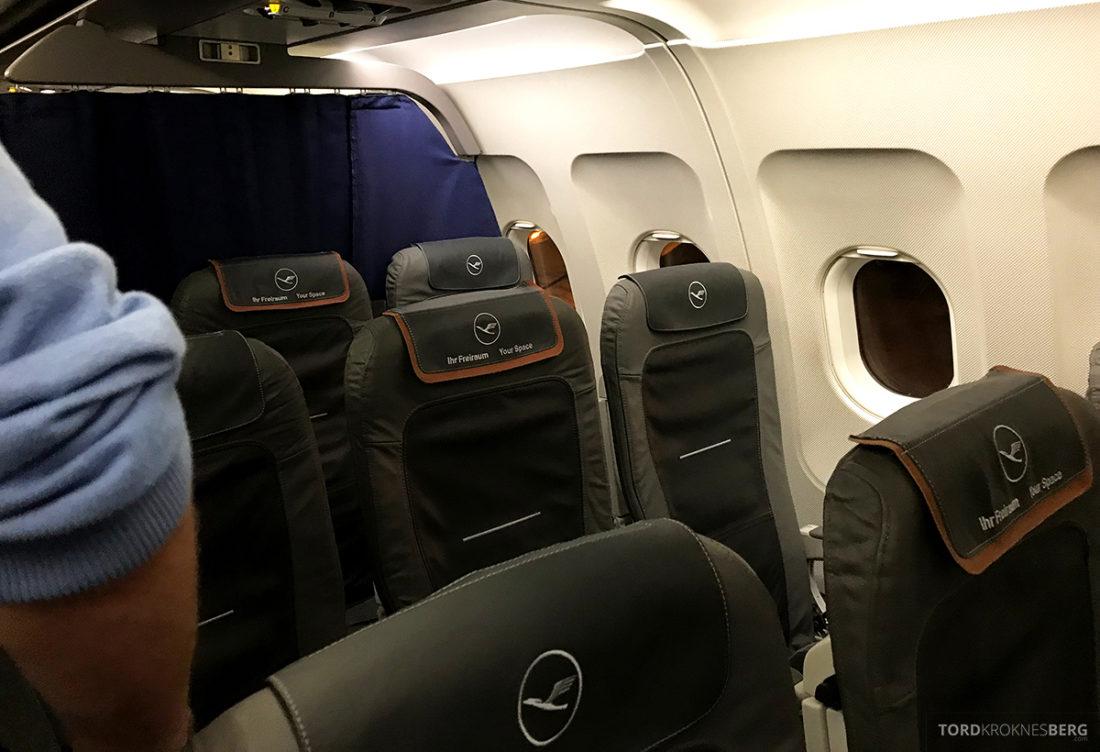 Lufthansa Economy Class Beograd Oslo Business Class