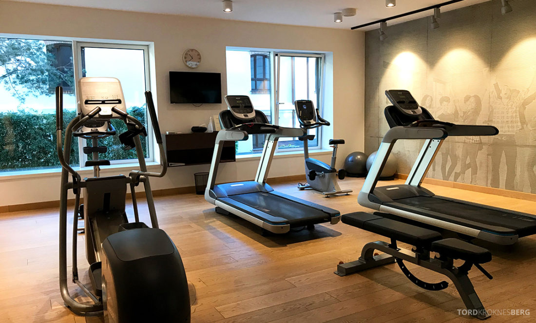 Radisson Collection Hotel Old Mill Belgrade gym