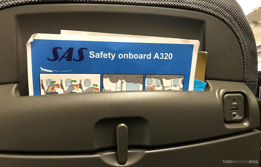 SAS Ireland Oslo London A320