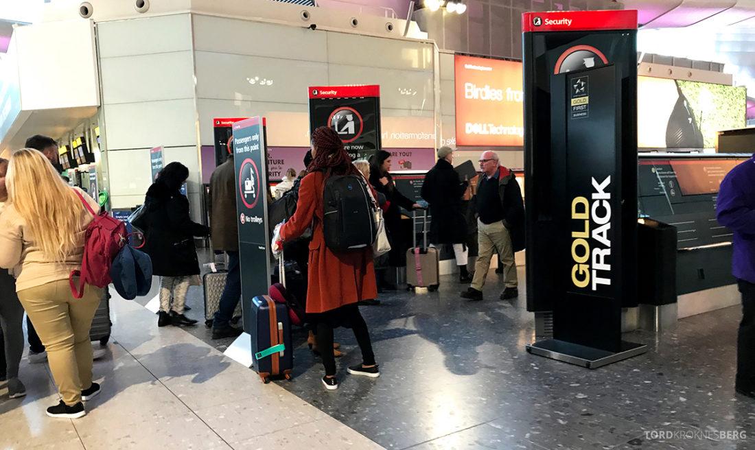 SAS Ireland Oslo London Gold Track