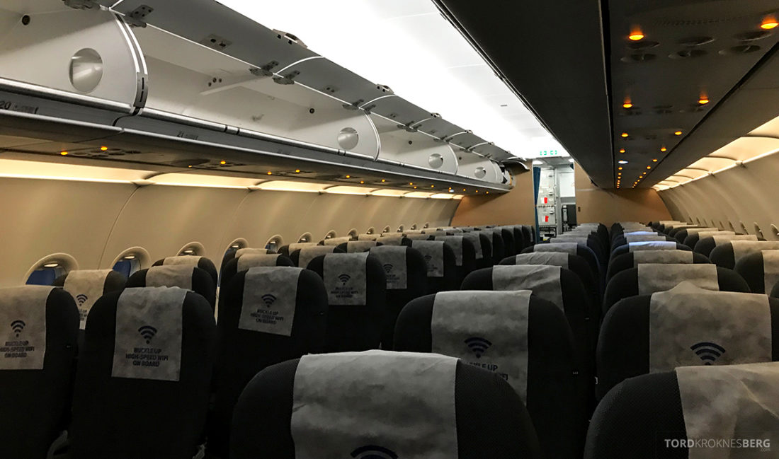 SAS Ireland Oslo London kabin