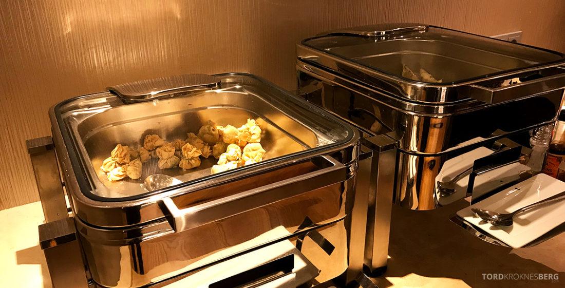 Sheraton Hotel Stockholm Club Lounge hors d'oeuvre varmmat