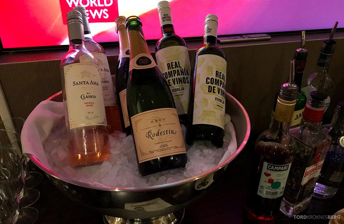 Sheraton Hotel Stockholm Club Lounge alkohol